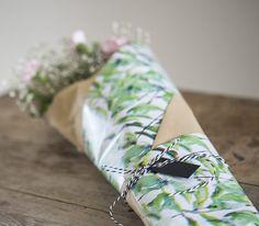 DIY - Blomsterindpakning