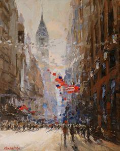 Painter Irina Alexandrina NYC7