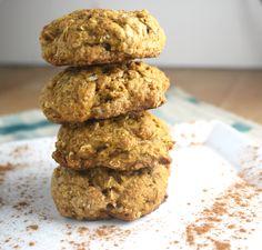 vegan pumpkin spice cookies #TreatYoSelf