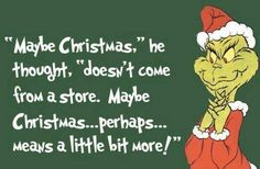 I love the Grinch