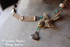 Emerald Sparrow Necklace