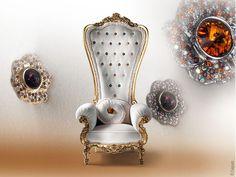 The Throne par Caspani : Un Fauteuil Royal
