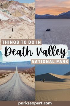 From a park ranger's perspective, these are the best things to do in Death Valley National Park. This post includes maps and free checklists. things to do in death valley national park, what to do in death valley national park, things to see in death valley national park #deathvalley #california #nationalparks #usa