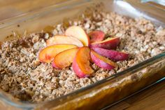 Chicago Feature: Paleo Approved Peach Cobbler