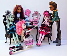 monster high sweet 1600 clawd wolf draculaura ca cupid frankie and clawdeen