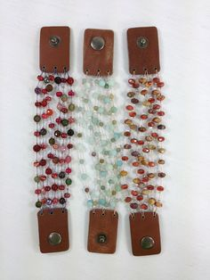 Make these bracelets with @Candace Renee Renee Renee Majeska Cooper on Beads Baubles & Jewels episode #1909 using @Beadalon wire. Instructions: http://beadsbaublesandjewels.com/projects/1900_Series/1909/Beads_Baubles_and_Jewels_1909-2.htm