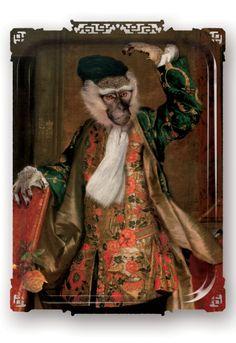 "Plateau ""Narky Cornélius"" - Ibride Cornelius, Funny Valentine, Victorian, Painting, Dresses, Design, Portraits, Sweet, Decor"