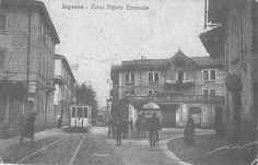 Legnano, Ex Corso Vittorio Emanuele, oggi Corso Italia, 1945