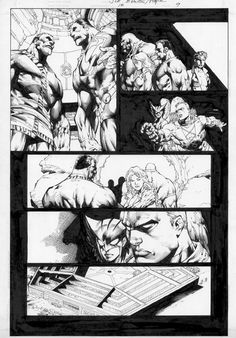 I MIEI SOGNI D'ANARCHIA - Calabria Anarchica: Justice League of America Issue 18 Page 9  Artists...