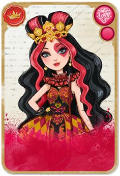 Lizzie Hearts from Ever After High! Love her! My favorite character!