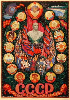 """""""Long live the all-victorious flag of Leninism."""