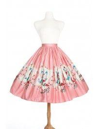 Jenny Skirt in Mary Blair Umbrellas Print