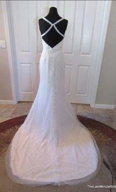 Alvina Valenta Ti Adora 7506: buy this dress for a fraction of the salon price on PreOwnedWeddingDresses.com