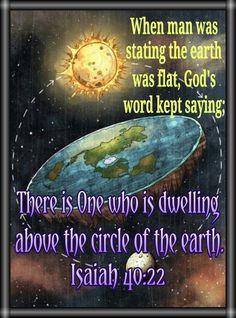 Isaiah 40 :22