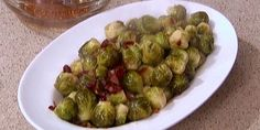 Caramelized Brussels Sprouts with Cranberries and Bacon | Official Website for Chef Robert Irvine