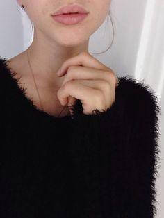 fuzzy sweater.