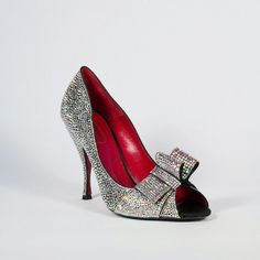 90e0de5aeac810 Cesare Paciotti Hand Strass Crystal Pumps (CPW434). Shoes Heels PumpsBlack  ...