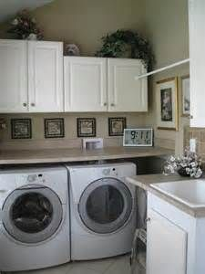 I Like The Countertops Over The Washer/dryer. I Currently Have Pedestal  Drawers, But They Are Not Stable Enough. I Am Thinking Of Taking Them Off  And ...