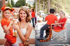 Tiger tails are always in style at Clemson