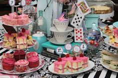 Mad Hatter Tea Party by Sassaby Parties