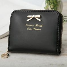e93457b5b New Purse Women Wallets Coins Holder Collector Purse Pure Color Zipper Soft  PU Leather Wallet. CarterasMonederosNiñas ...