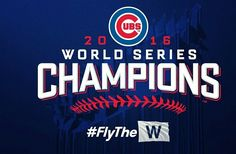 Congratulations to the Chicago Cubs, 2016 World Series Champions! #Cubs #Chicago #AlwaysaSoxFan