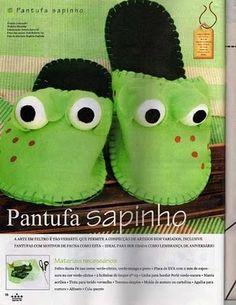 Manualidades pantuflas para hacer :lodijoella