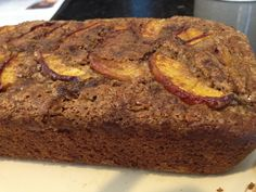 Low-fat/cal Cinnamon Peach Banana Bread