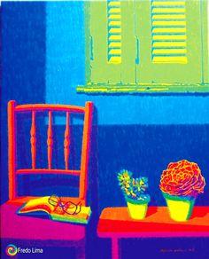 Pop Art Fredo Lima: Acrílico  sobre Tela - Estilo Pop Art – Com minha ...