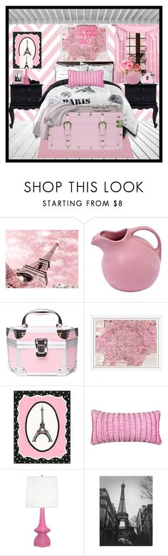 """""""Paris Decor"""" by mfoster07 ❤ liked on Polyvore featuring interior, interiors, interior design, home, home decor, interior decorating, Robert Abbey and Wall Pops!"""