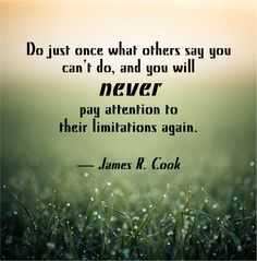 Don't let anything hold you back from achieving your true potential. Advertising Quotes, Marketing And Advertising, Don't Let, Let It Be, Hold You, You Never, Say You, Wisdom, Sayings