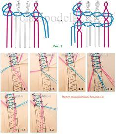 Кружевное плетение на коклюшках. Урок 3. - Плетение на коклюшках - Азбука рукоделия - Каталог статей - Классные поделки Bobbin Lace Patterns, Lace Heart, Lace Jewelry, Needle Lace, Paracord, Lace Detail, Tatting, Needlework, Knots