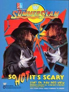 WWF / WWE - Summerslam 1994 - Event poster
