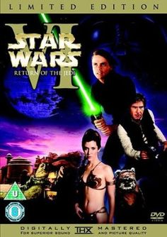 Star Wars VI: Return of the Jedi Limited Edition DVD: Amazon.co.uk: Mark Hamill, Harrison Ford, Carrie Fisher, Alec Guiness, Peter Cushing: Film & TV
