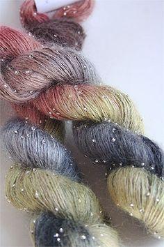 Artyarns Beaded Silk Mohair in 1020 Silver
