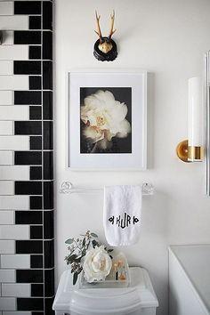 Image result for subway tile white bathroom