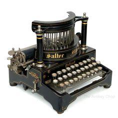 Antique 1902 Salter No6 Typewriter w/Improved by TheAntikeyChop, $3295.95