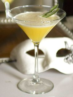 """Mr. Right 2 oz. Right Gin 2 pieces fresh pineapple (peel and cut into 1 1/2"""" pieces) 1 oz. pineapple juice 1/2 oz. fresh lemon juice 3/4 oz. simple syrup (1 to 1, sugar to water) 5-6 basil leaves In mixing glass, muddle pineapple and basil leaves. Combine the other ingredients, add ice, shake vigorously, and double strain into cocktail glass. Garnish with a sprig of basil leaves. Courtesy of mixologist Gregor de Gruyther, London   - MarieClaire.com"""