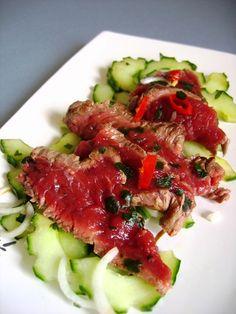Salade thaï de boeuf : Recette de Salade thaï de boeuf - Marmiton
