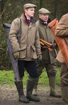 Laksen Sporting Esk and Dorset tweed jacket