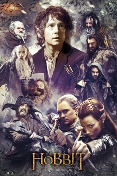 The Hobbit - The Desolation of Smaug Collage Pôster