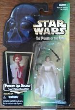 STAR WARS Power of the Force Princess LEIA Organa Laser Pistol ACTION FIGURES in Toys & Hobbies, Action Figures, TV, Movie & Video Games | eBay
