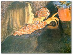 S.Wyspiański - Dziewczynka z wazonem 6927716168 - Allegro.pl Art, Painting