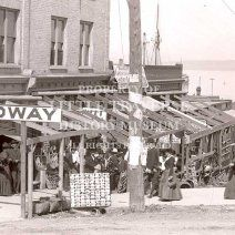 The Midway was located near what is today the tunnel to the waterfront under US 31.