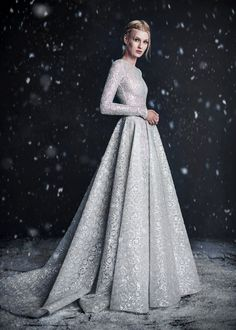 Paolo Sebastian Fall/Winter 2016, Haute Couture: The Snow Maiden Campaign.