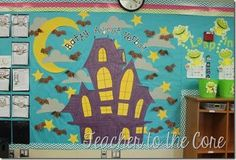 Teacher to the Core | Bloglovin' Halloween Haunted Houses, Teacher Blogs, Knight, Core, October, Kids Rugs, Ideas, Kid Friendly Rugs, Thoughts