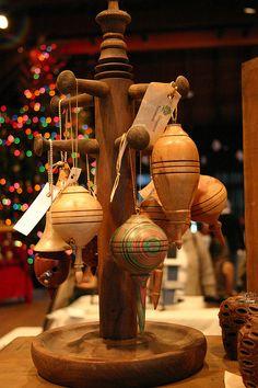 Wood Turned Ornaments