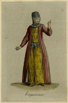 Kyrgyz woman, author unknown, 1787