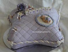 Hvordan lage en putekake - Bakeprosjektet Throw Pillows, Baking, Babyshower, Cookies, Desserts, Ideas, Velvet, Wedding, Pies