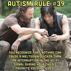 """This is part 4 in the """"Autism Rules"""" series highlighting some common aspects of parenting. The term """"rule"""" is used very loosely but hopefully you relate to a few of th…"""
